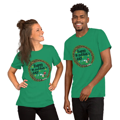 Saint Patrick's unisex short sleeve t-shirt