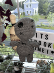 Voodoo Doll Plushy - Yarnover by Lex