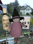 Witch Plushy Decoration - Yarnover by Lex