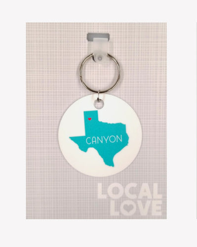 Canyon State Love Key Chain