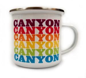 Canyon Supergraphic Camp Mug