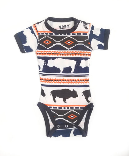 Buffalo Fair Isle Infant Creeper