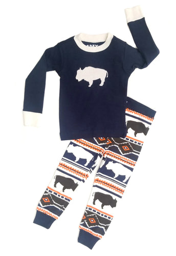 Buffalo Fair Isle Toddler PJ Set
