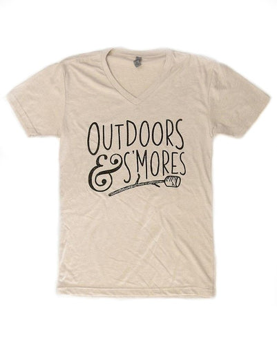 Outdoors & S'mores Tee