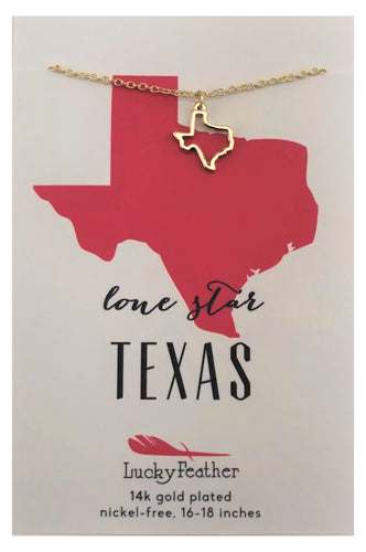 Texas Lone Star State Necklace