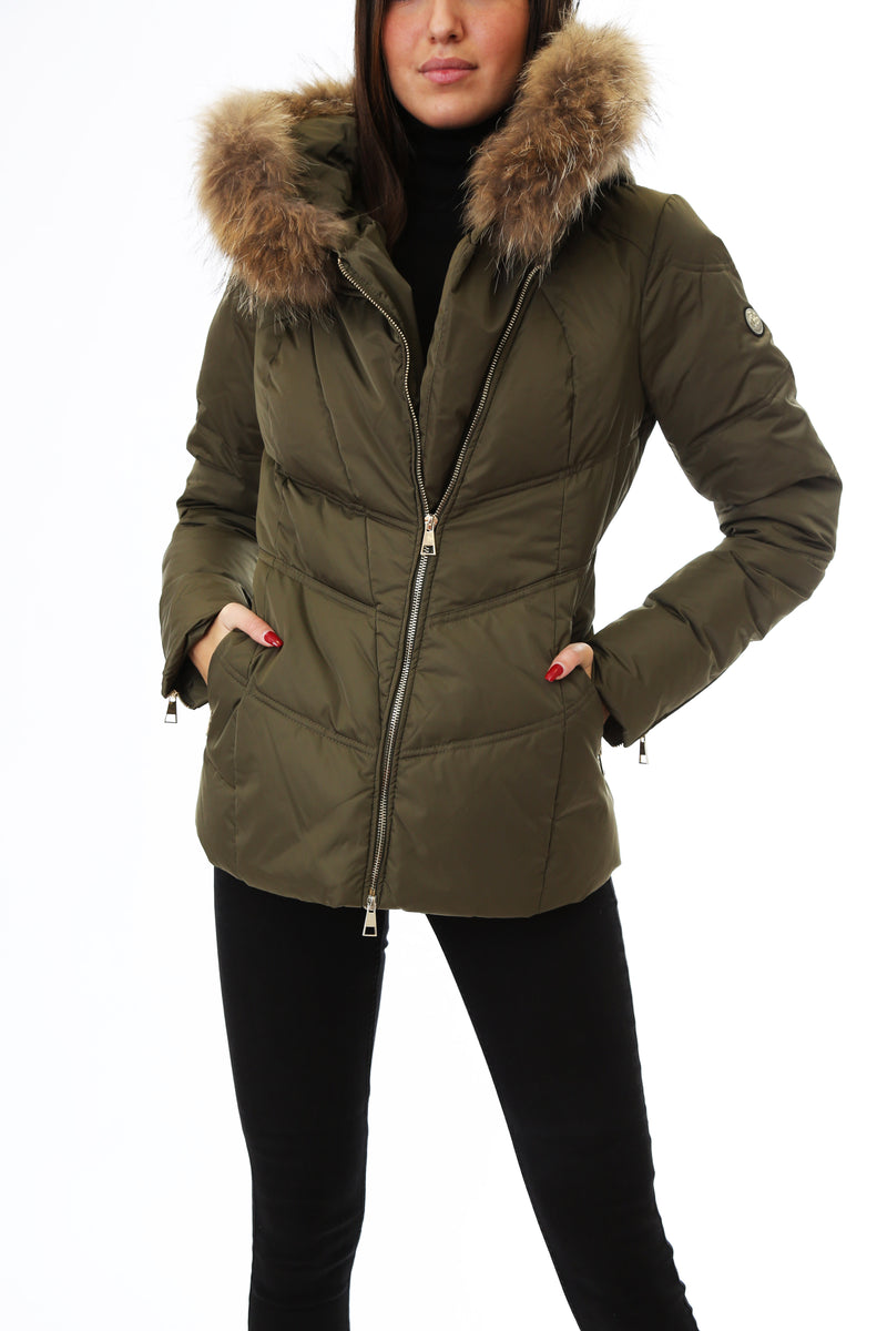 Gold Rush Donna Giubbotto Imbottito Winter Jacket Greta Green