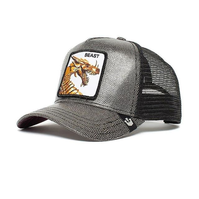 Goorin Bros Uomo Limited Edition Leather Cappello Baseball Beast