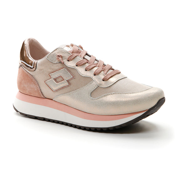 Lotto Donna Scarpe Sportive Wedge Metal W Sneakers Pink