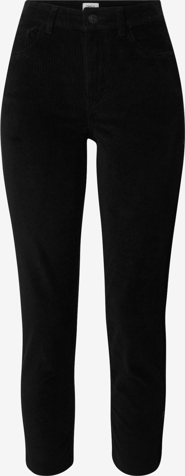 Only Donna Pantalone Velluto Velour Emily Black
