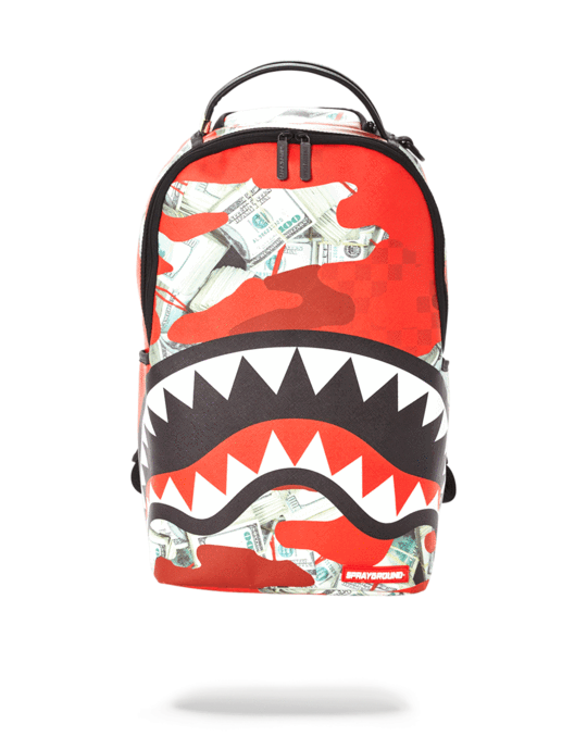 Sprayground Zaino Money (Camo) Red Backpack