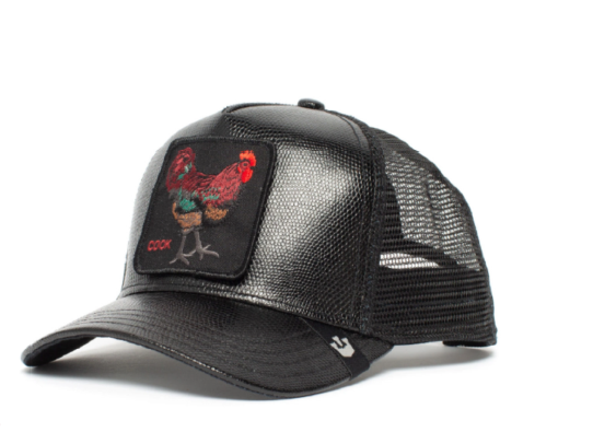 Goorin Bros Uomo Limited Edition Leather Cappello Baseball Cock