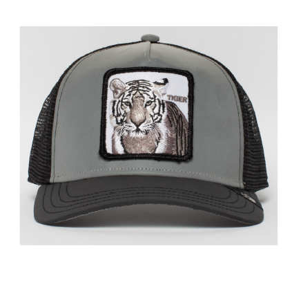 Goorin Bros Uomo Limited Edition Leather Cappello Instinct Only Tiger