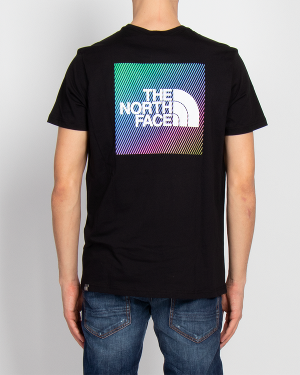 THE NORTH FACE T-SHIRT M SS RNBW