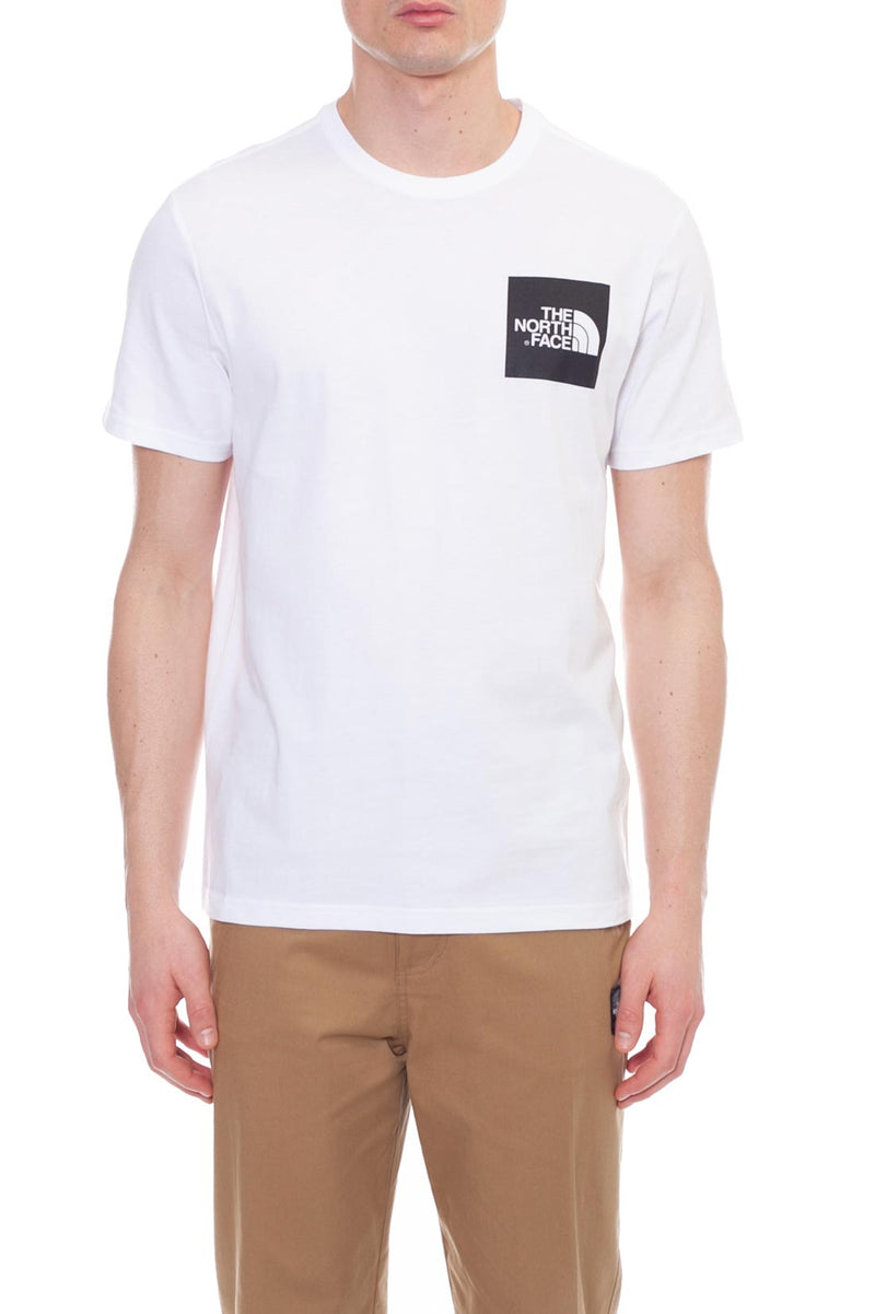 The North Face Uomo T-Shirt Logo Stampato Fine Tee White
