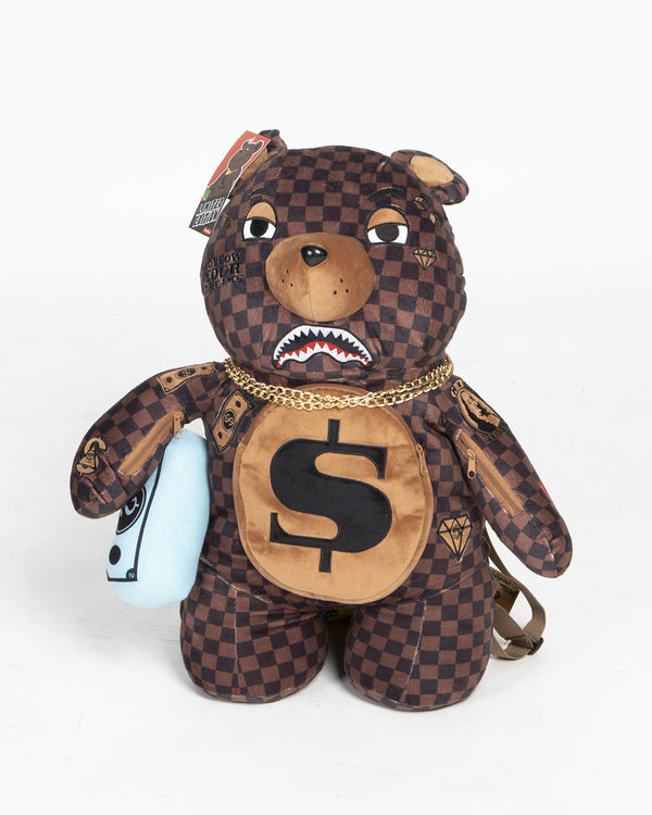Sprayground Zaino Dollar Teddy Bear