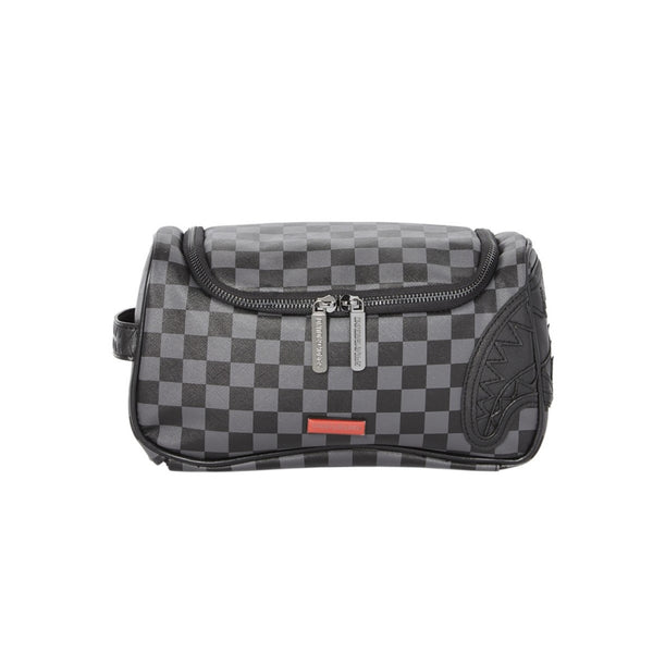 SPRAYGROUND BORSELLO HENNY BLACK TOILETRY BAG