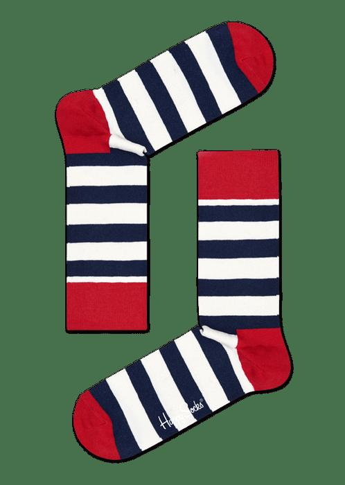 Happy Socks Calzini Classic Stripes Gift Box