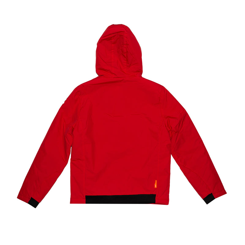 Suns Giubbotto Imbottito Hooded Winter Jacket Aurelio Plus M3U Red