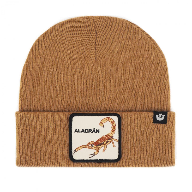 Goorin Bros Cappello Lana Beanie Night Stinger Camel