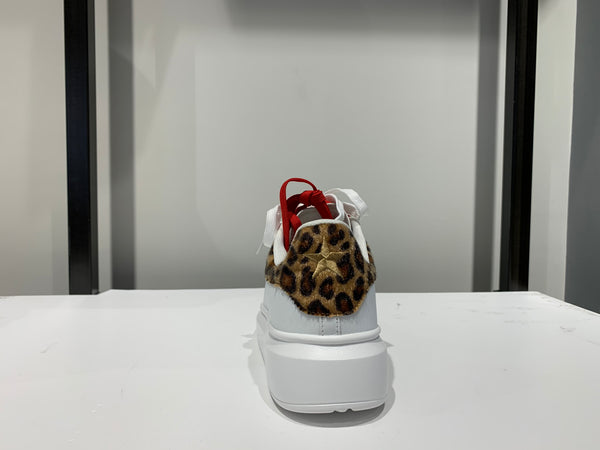 Shop Art Scarpa Donna Sneaker in Eco Leather Animalier
