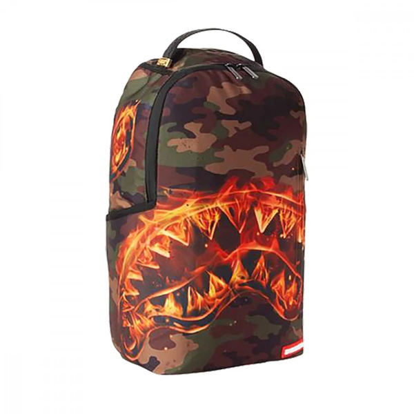 Sprayground Zaino Backpack Fire Shark