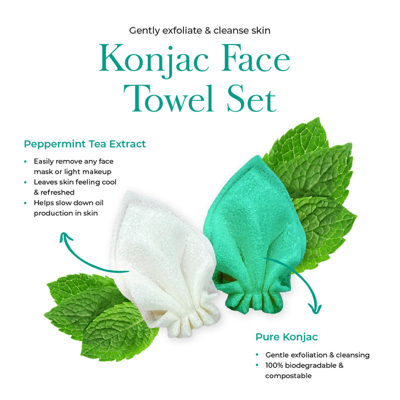 Konjac Face Towel Set - Faceittea (4592950902856)