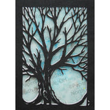 Tree Cut Paper ACEO