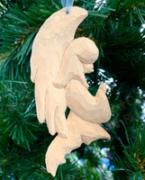 Angel, Carved Wood Ornament