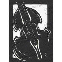 Music Cut Paper ACEO