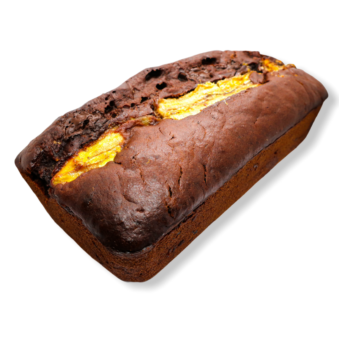 Double Chocolate Banana Bread (V)