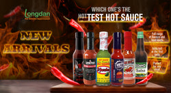 Longdan introduces the famous hot sauce line from Hot Headz!