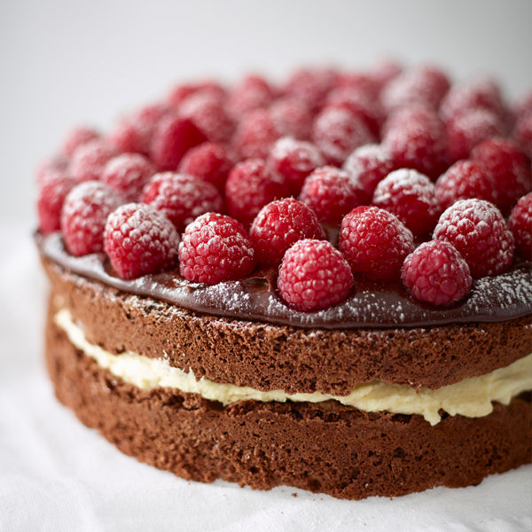 Chocolate And Raspberry Gateau Recipe