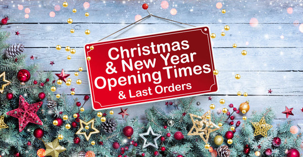 Christmas and New Year Opening Times at Longdan stores