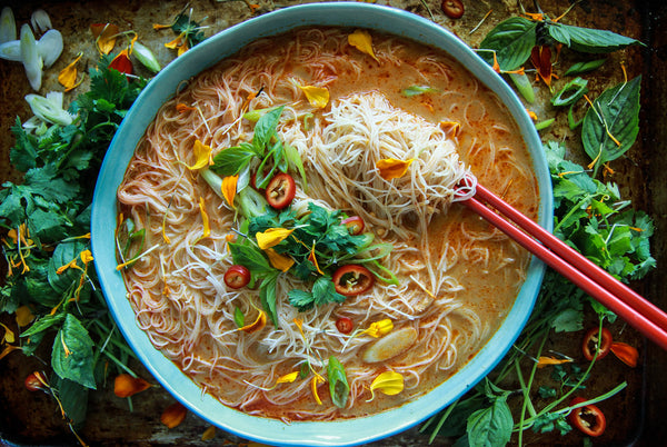 Golden Lotus Rice & Brown Rice Vermicelli Instruction of Use