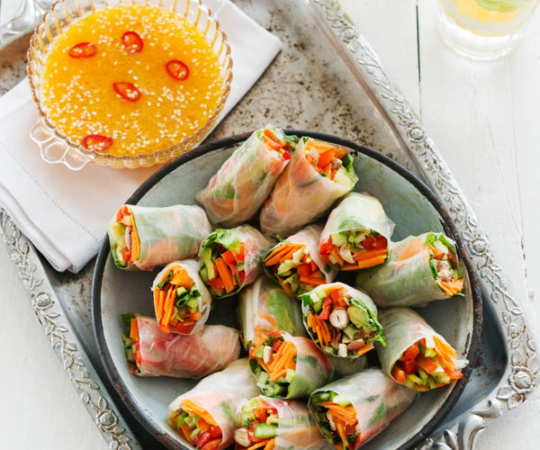 The Vietnamese Bacon Summer Rolls Recipe