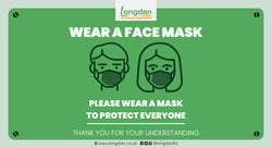 Longdan Covid-19 update: Wear face mask