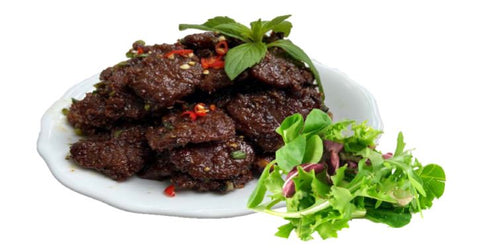 Vegetarian-Pork-Simmered-With-Pepper