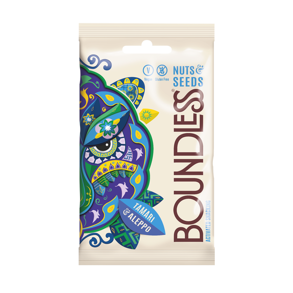 Boundless Activated Nuts & Seeds: Tamari & Aleppo
