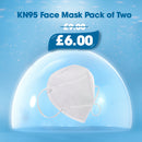 KN95 Face Mask Pack of Two - Longdan Offical Online Store - UK Cash & Carry