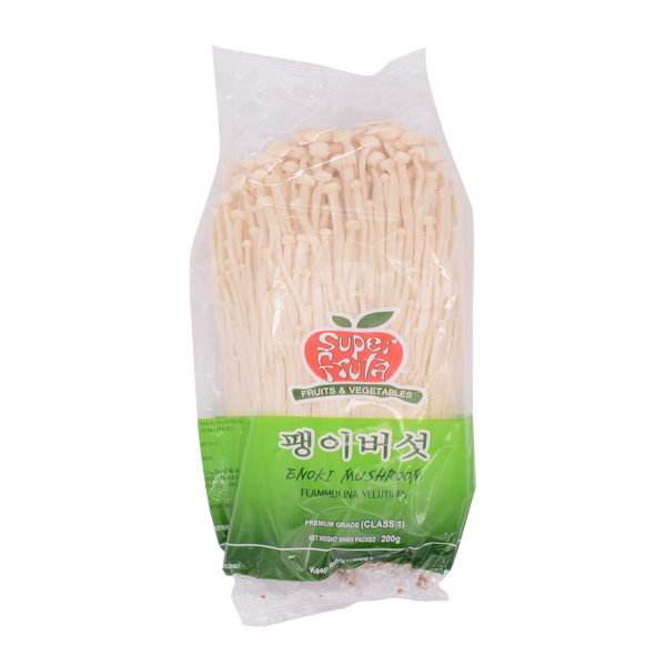 Shreeji Enoki Mushroom 200g - Longdan Offical Online Store - UK Cash & Carry