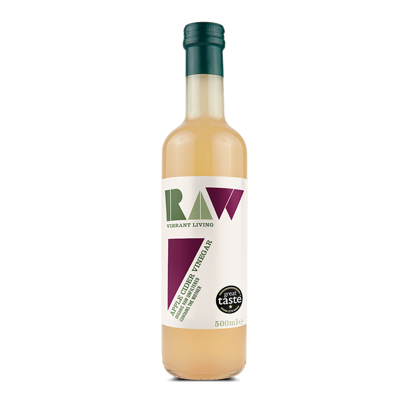 RAW HEALTH ORG Apple Cider Vinegar 500ml - Longdan Online Supermarket