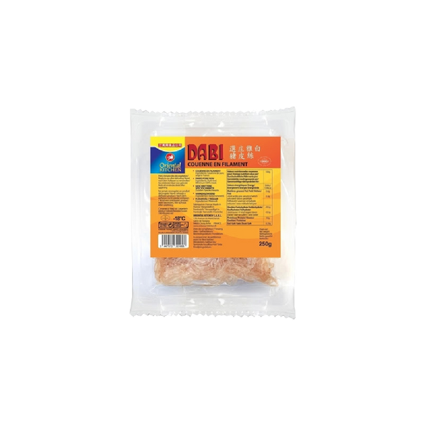 Oriental Kitchen Frozen Shredded Pork Skin 250g (Frozen) - Longdan Online Supermarket