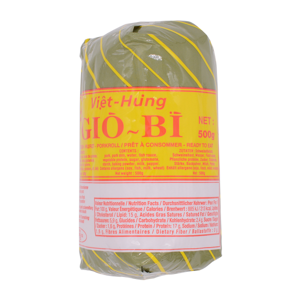 Promotion Pork Roll with Skin 500g - Longdan Online Supermarket