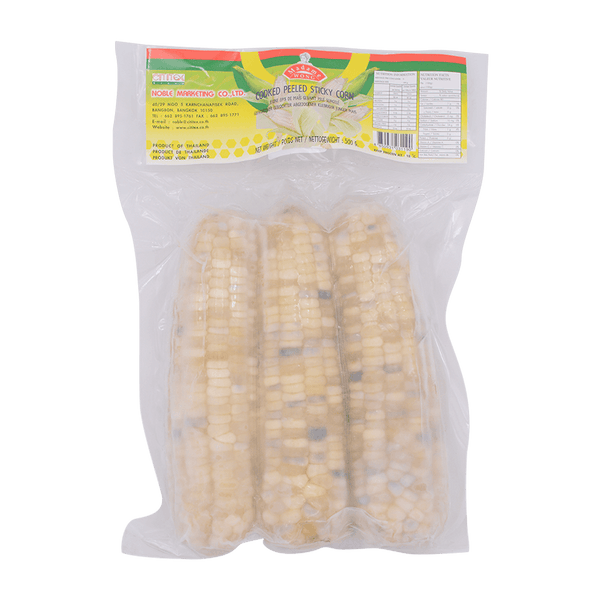 Madame Wong Frozen Cooked Sticky Corn (Peeled) 500g - Longdan Online Supermarket