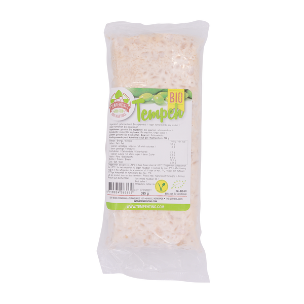 Tempeh Organic Fermented Soybean 395g - Longdan Offical Online Store - UK Cash & Carry