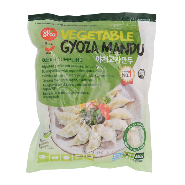 Allgroo Vegetable Gyoza Mandu 540g - Longdan Offical Online Store - UK Cash & Carry