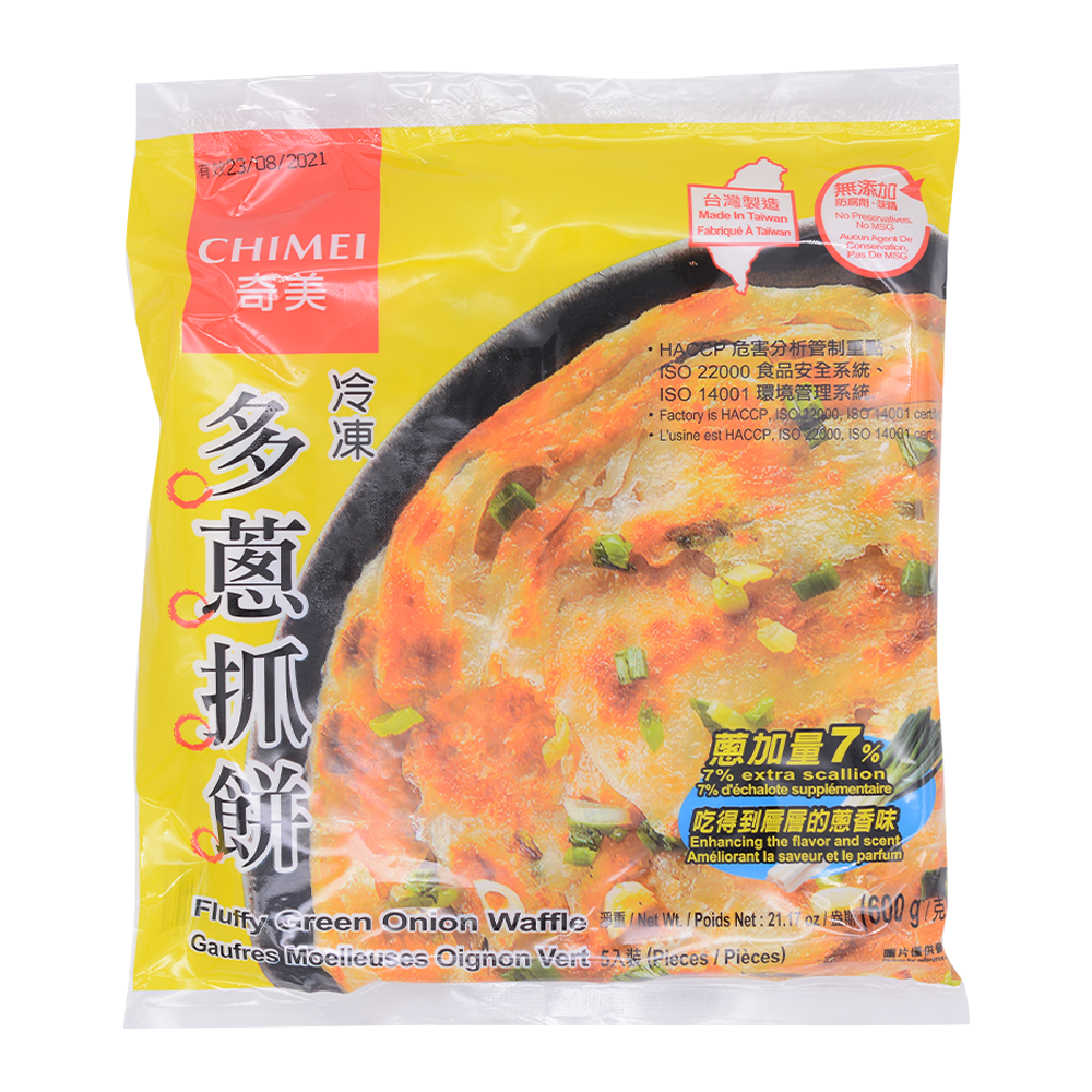 CHIMEI Fluffy Green Onion Waffle 600g - Longdan Online Supermarket