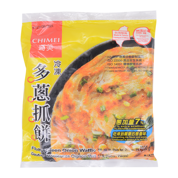 CHI MEI Fluffy Green Onion Waffle 600g - Longdan Offical Online Store - UK Cash & Carry