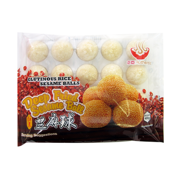 Zheng Dian Deep Fried Sesame Ball 400g (Frozen)