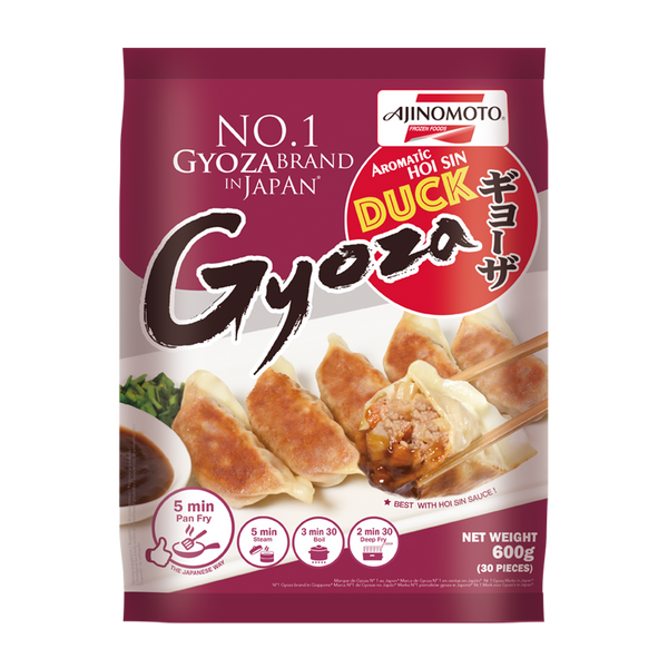 AJINOMOTO Duck Gyoza 600g - Longdan Offical Online Store - UK Cash & Carry